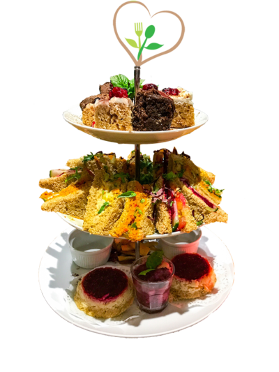 Vegan Afternoon Tea for two